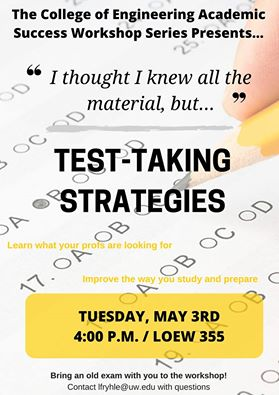 CoE Test-taking Strategies