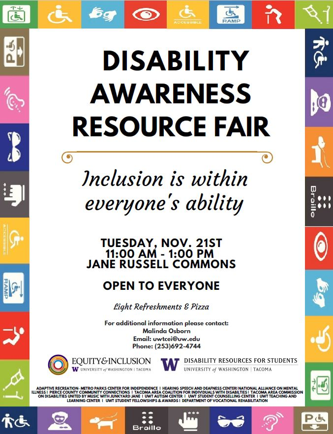 Disability Awareness Resource Fair