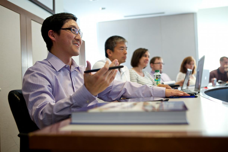 Executive MBA Class Visit