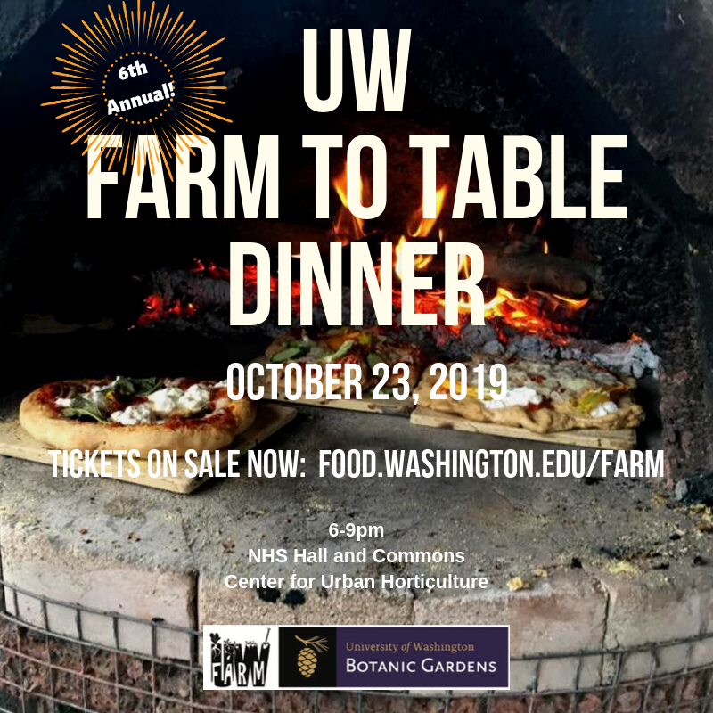 UW Farm To Table Dinner Celebration
