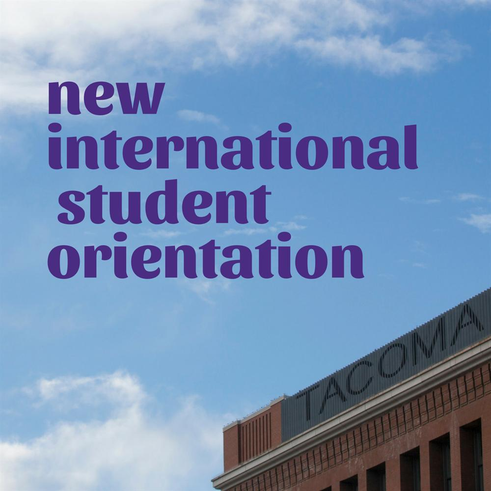 New International Student Orientation
