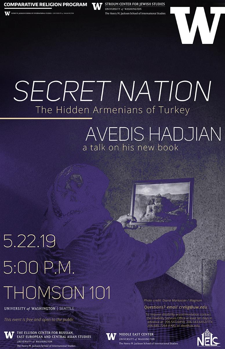 TALK | Secret Nation: The Hidden Armenians of Turkey | Avedis Hadjian