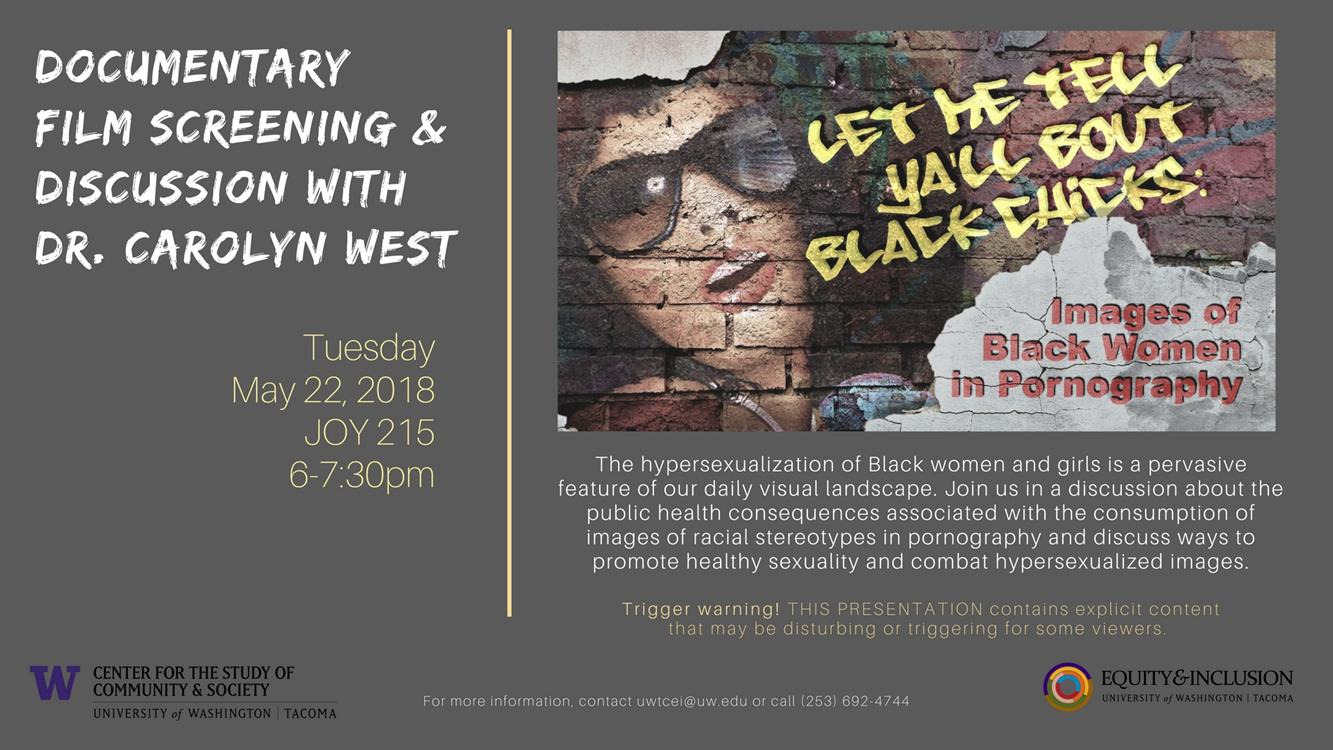 Documentary Film Screening & Discussion with Dr. Carolyn West