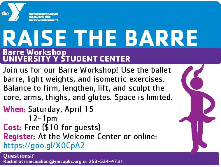Barre Workshop
