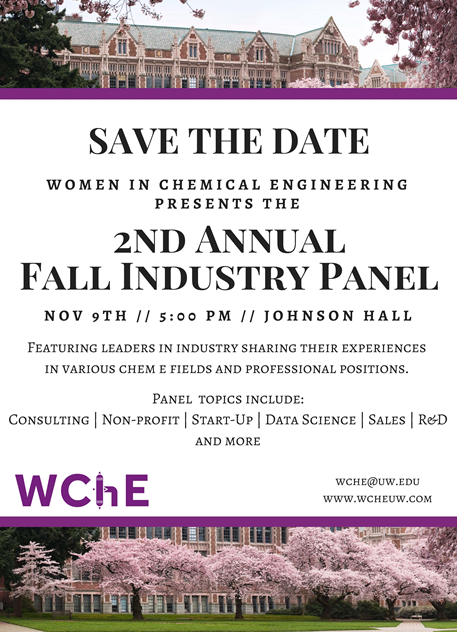 Women in Chemical Engineering Fall Industry Panel