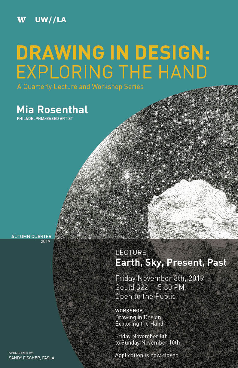 Drawing Workshop Lecture:  Mia Rosenthal