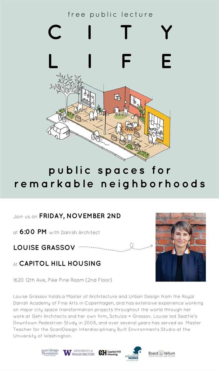Louise Grassov: City Life - Public Spaces for Remarkable Neighborhoods