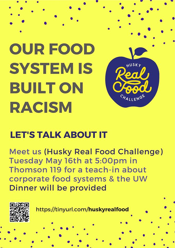 Husky Real Food Challenge Teach-In