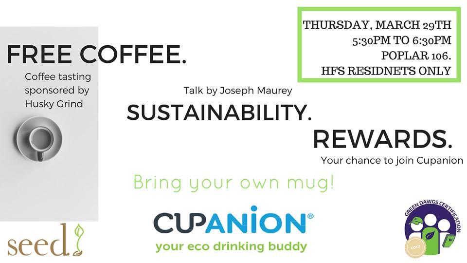 Coffee and Sustainability: Coffee Tasting with Joseph Maurey