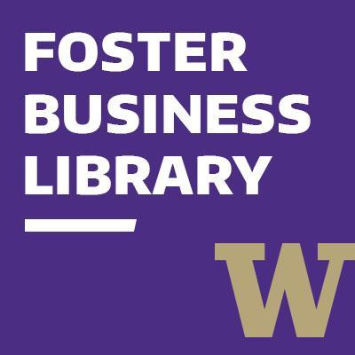 Foster Business Library: Drop-in Research Help