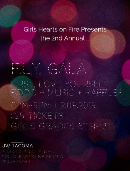 Girls Hearts on Fire 2nd Annual F.L.Y. Gala