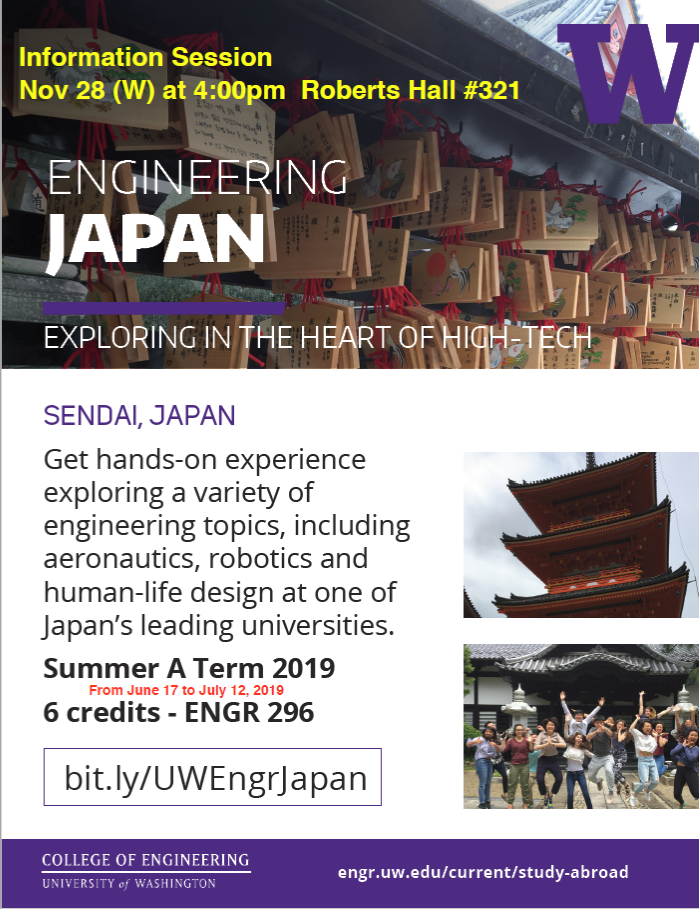 UW Study Abroad: Engineering Japan