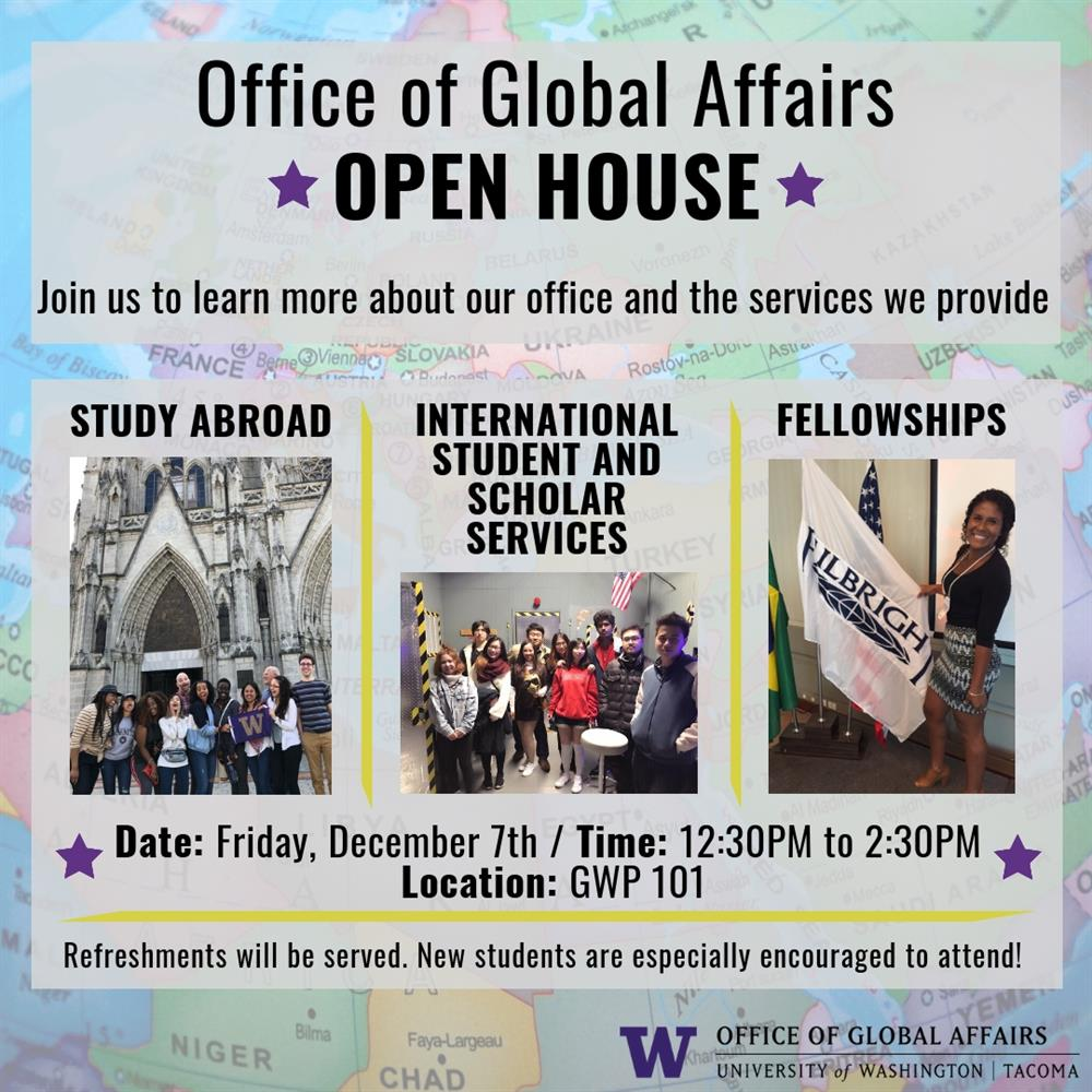 Office of Global Affairs Open House