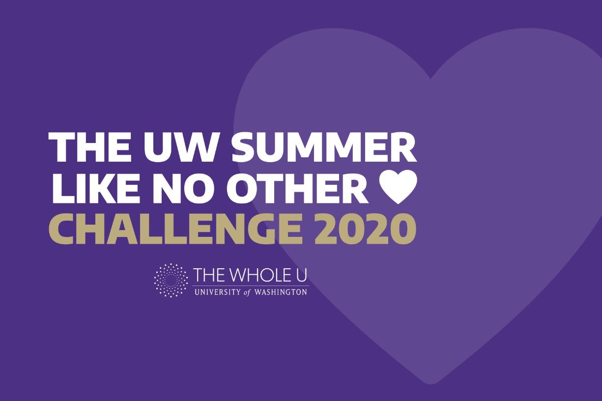 2020 UW Summer Wellness Team Challenge Starts