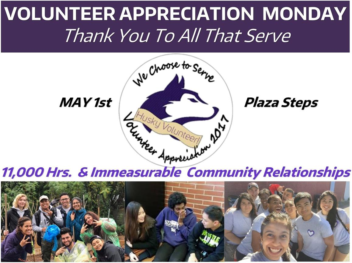 Volunteer Appreciation Monday