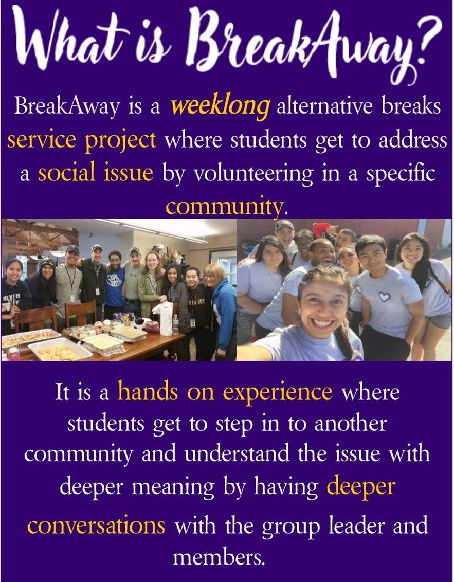 Alternative Breakaway-  Information Session
