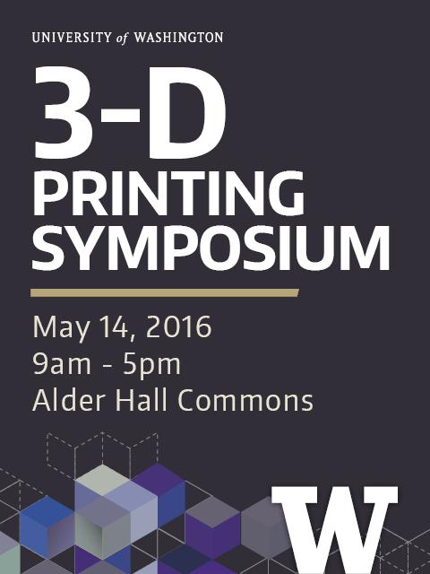 3-D Printing Symposium