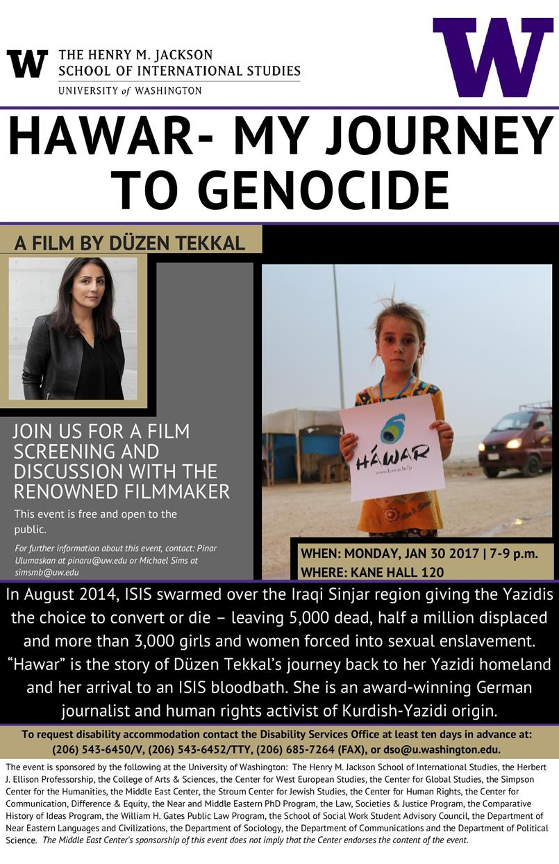 "FILM | ""Hawar-My Journey to Genocide"""