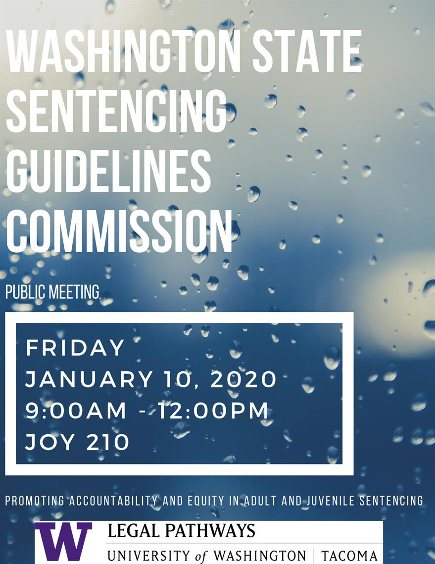 Washington State Sentencing Guidelines Commission Meeting