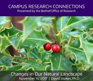 Campus Research Connections Series, Session 3 - Changes in Our Natural Landscape