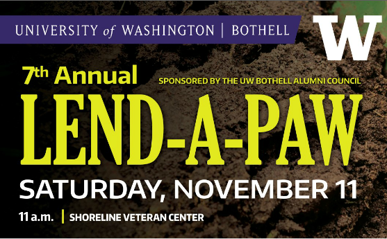 7th annual Lend-a-Paw volunteer event