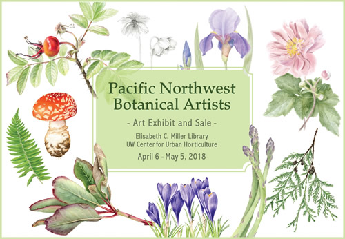 Art Exhibit: Pacific Northwest Botanical Artists Group Show