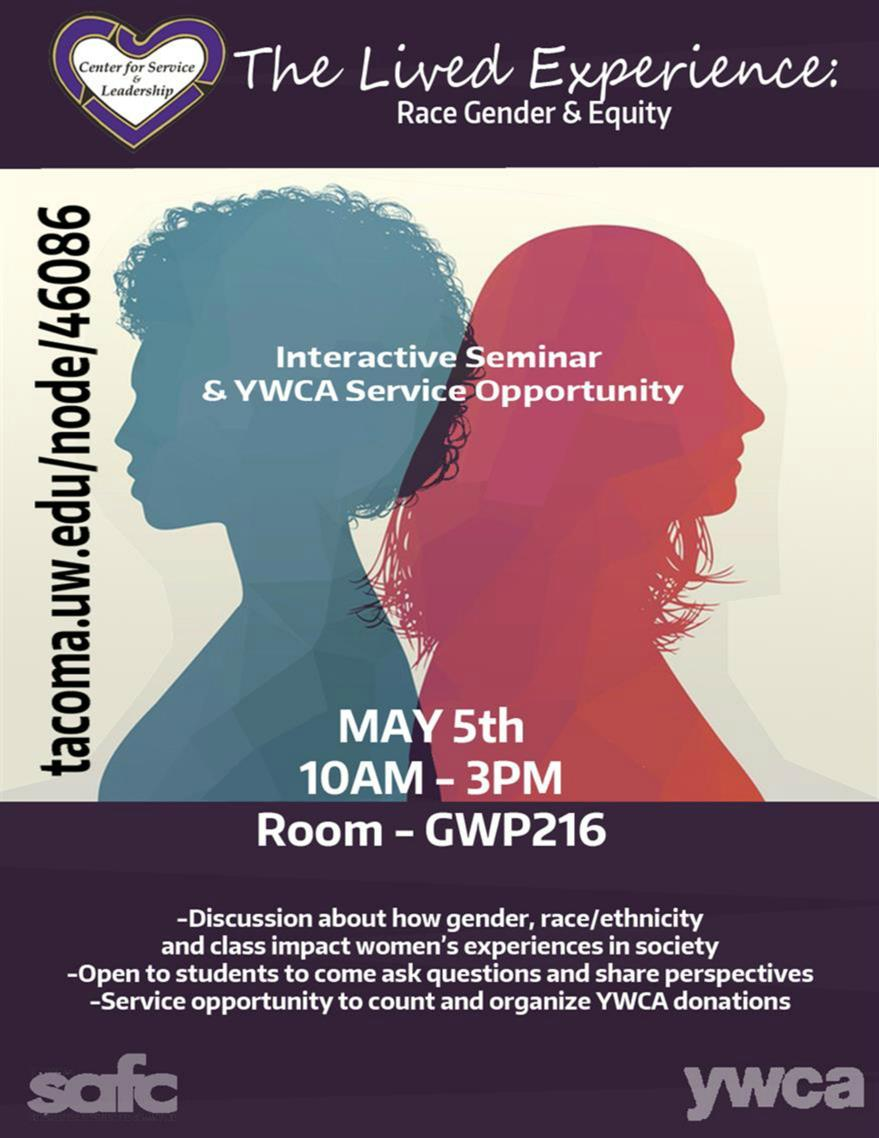 YWCA Service Event- Lived Experience