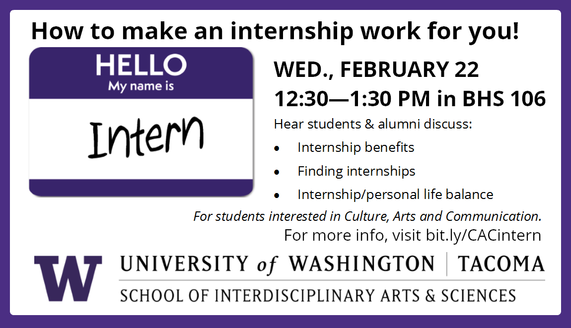 How to make an internship work for you!