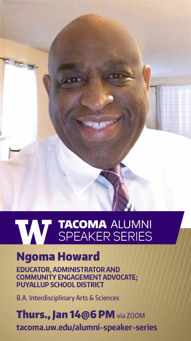 Alumni Speaker Series: Ngoma Howard, '98