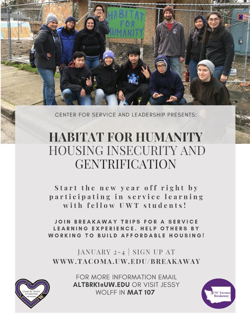 Habitat for Humanity BreakAway Trip