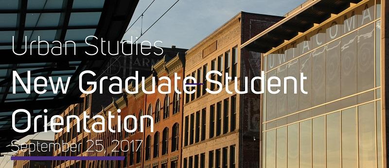 MACP & MSGT Graduate Program Orientation