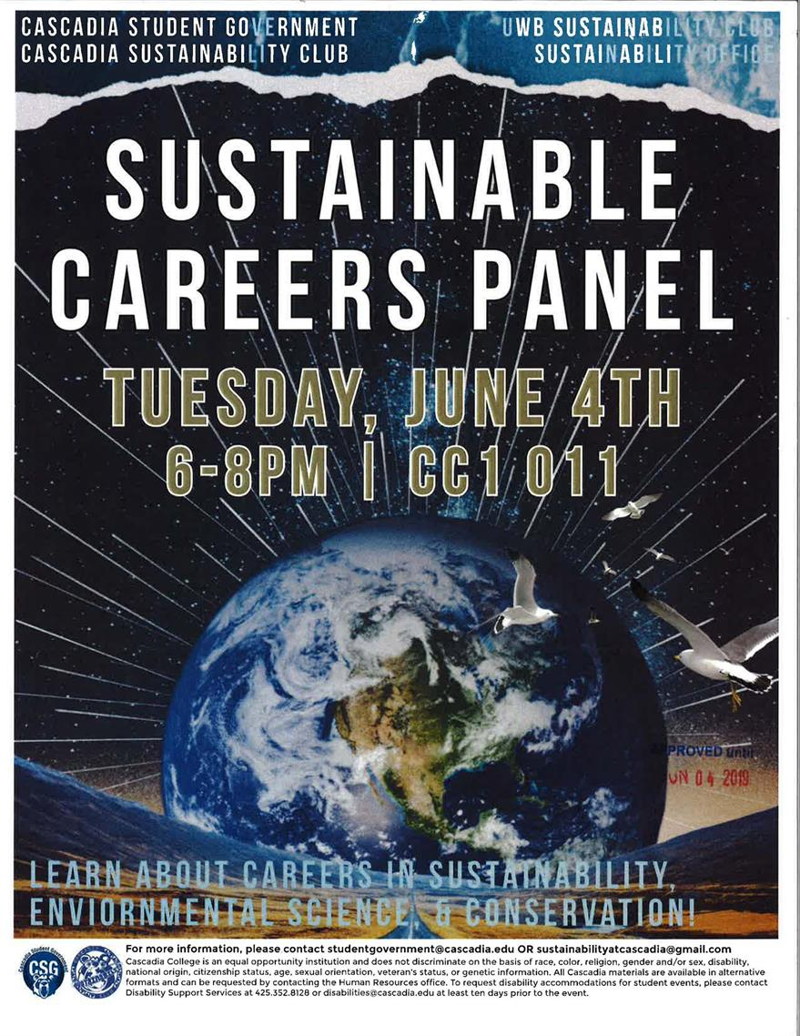 UW Bothell Sustainable Careers Panel