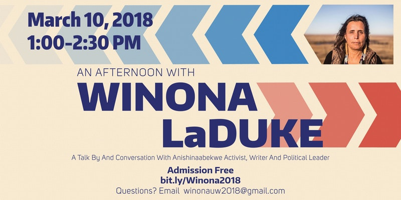 An Afternoon with Indigenous Activist Winona LaDuke