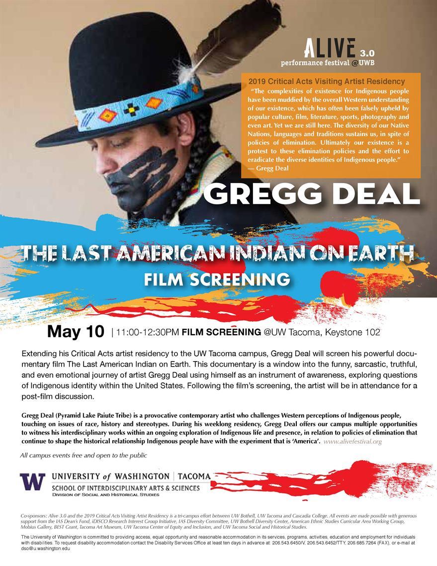 'The Last American Indian On Earth' Film Screening