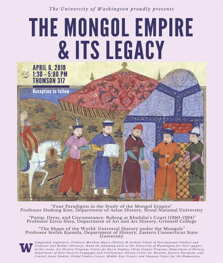 Symposium | The Mongol Empire and its Legacy