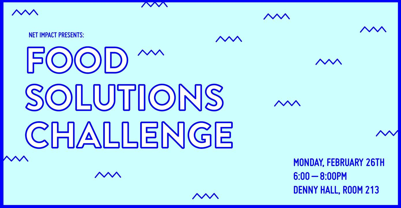 Food Solutions Challenge