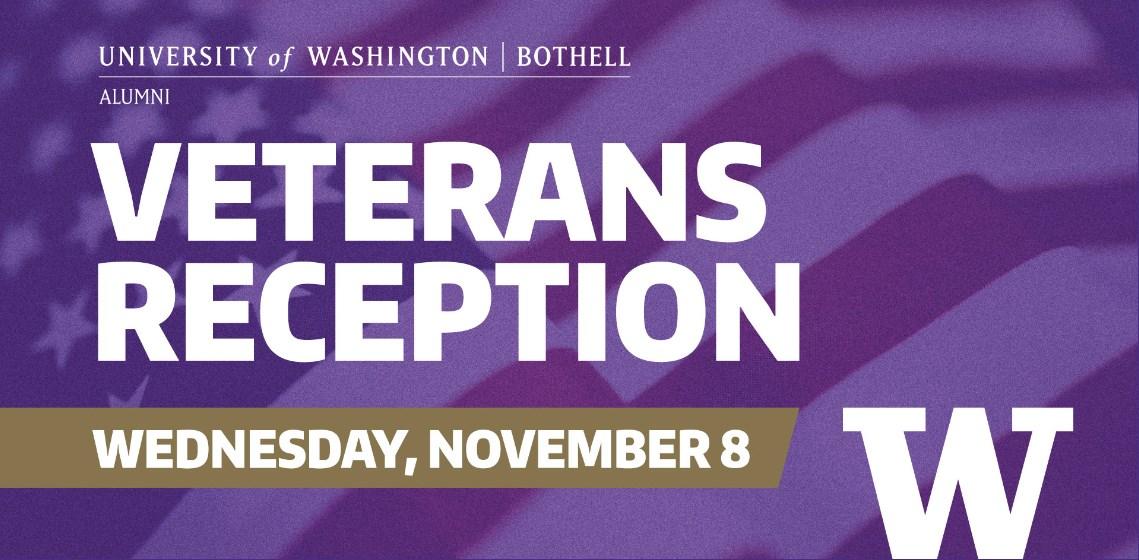 UW Bothell Veterans Reception