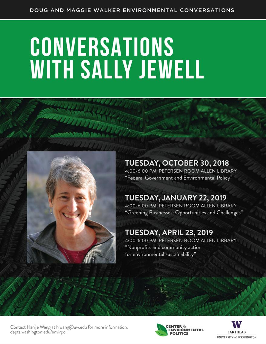 Doug and Maggie Walker Environmental Conversations: Conversations with Sally Jewell