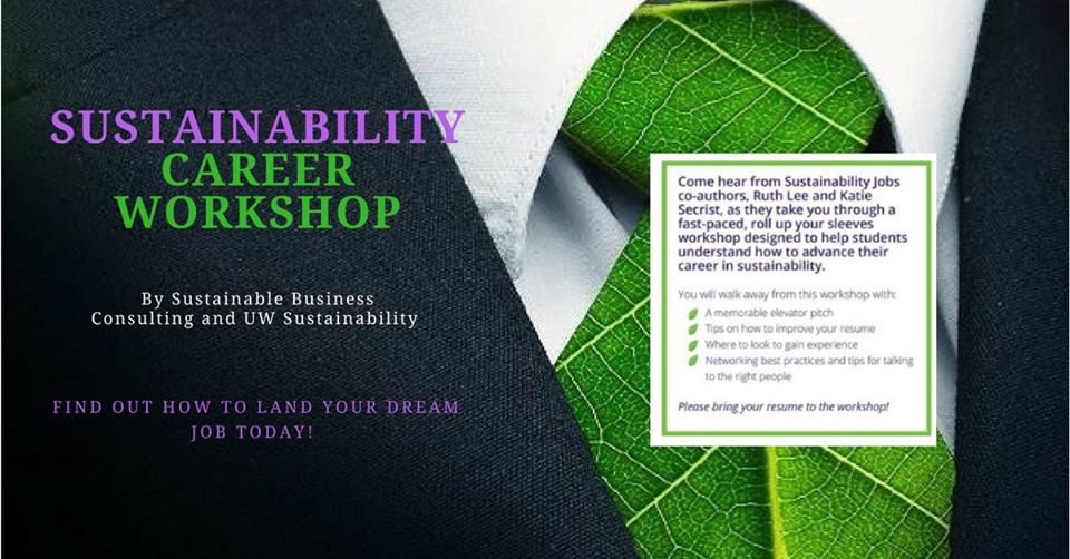 Sustainability Career Workshop