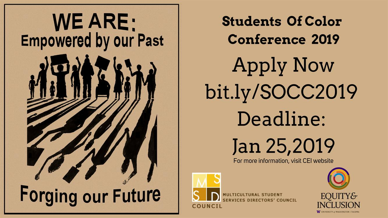 Students of Color Conference Applications