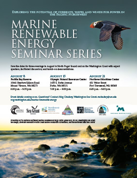 Marine Renewable Energy Seminar - Padilla Bay