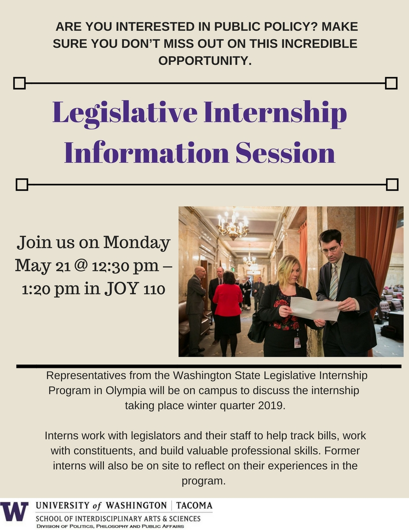 Legislative Internship Information Session
