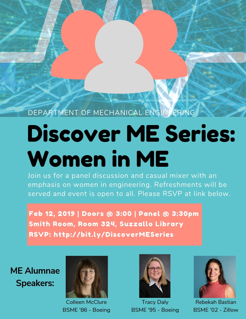 Discover ME Series: Women in ME