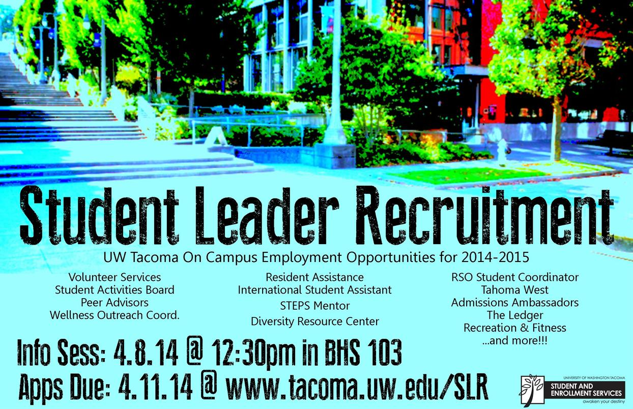 Student Leader Recruitment