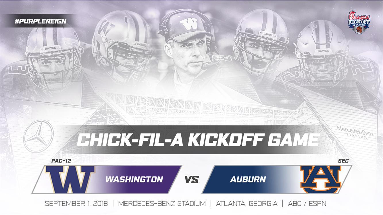 Viewing Party! UW vs. Auburn