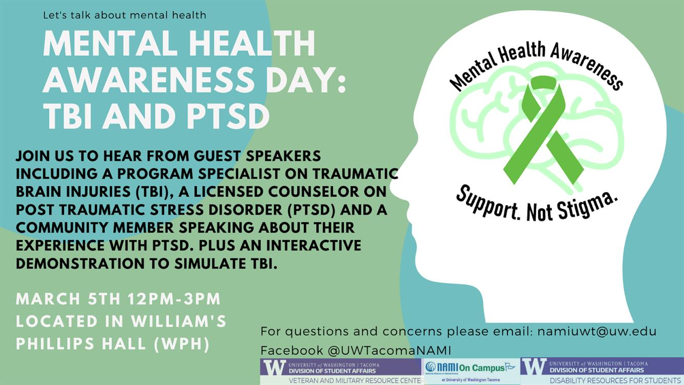 Mental Health Awareness Day: TBI and PTSD