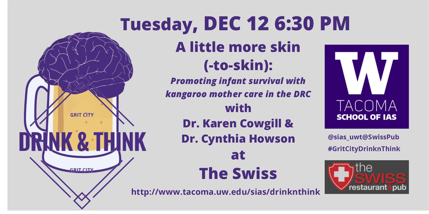 A little more skin(-to-skin): Promoting infant survival with kangaroo mother care in the DRC -- Grit City Think & Drink