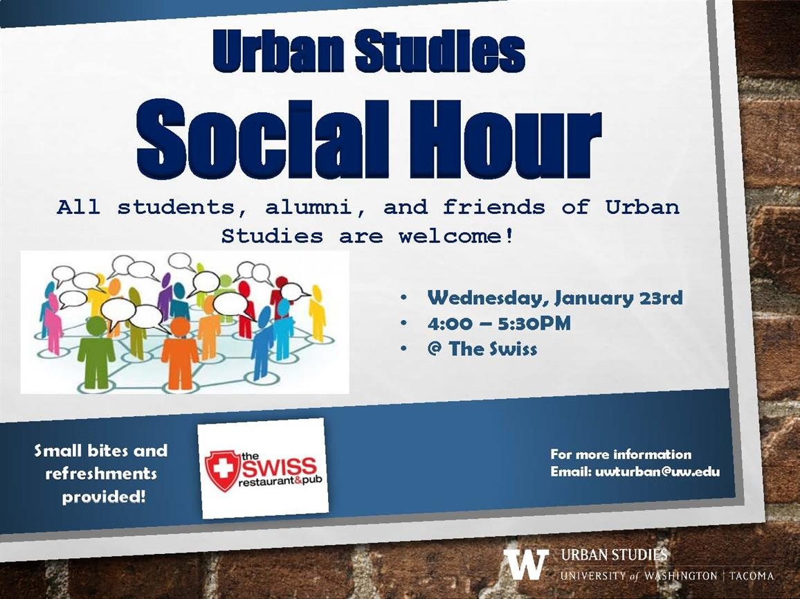 Urban Studies Winter Social Hour
