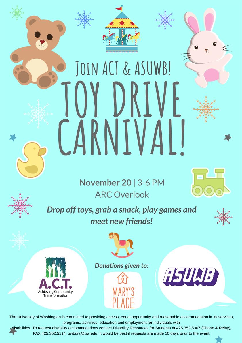Toy Drive Carnival