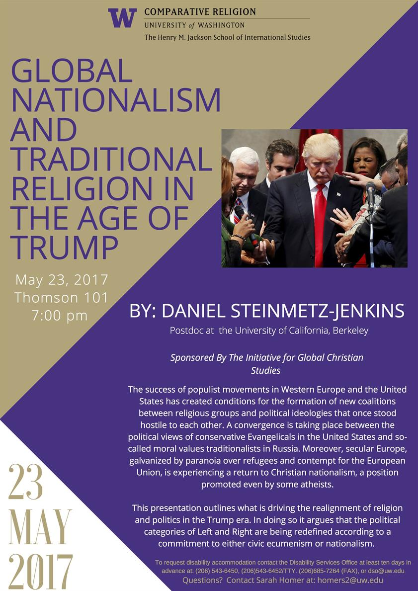 Global Nationalism and Traditional Religion in the Age of Trump